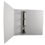White 65mm Pres 4D-Ring Binder Pk10