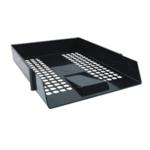 Black Plastic Letter Tray Pk12