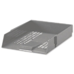 Contract Grey Plastic Letter Tray