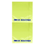 Yellow Note 75x75mm Repositionable Pad