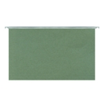 Green Foolscap Suspension Files Pk50