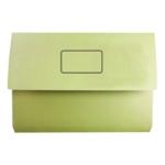 White Box Yellow Document Wallet Pk50