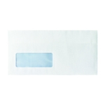 White DL Window Envelopes S/Seal Pk1000