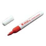 Red Bullet Whiteboard Marker Pens Pk10