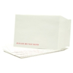 C4 White Board Backed P/Seal Envelopes