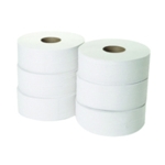 2 Ply Jumbo Toilet Roll Pk6