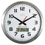 Acctim Meridian Alum RC Wall Clock