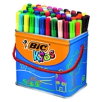 Bic Visa Colouring Pens Drum Pk84