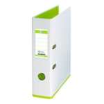 Mycolour Lever Arch File A4 White/Lime