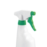 2Work Grn Trigger Spray Bottles Pk4