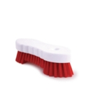 Hand Held Scrubbing Brush Red