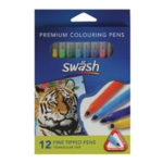 Swash Komfigrip Fine Colouring Pen Pk12