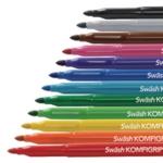 Swash Komfigrip Broad Colour Pens Pk12