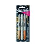 Sharpie Metallic Marker Fine Pk3