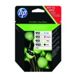 HP 950XL 951XL BK C/M/Y Ink Pack C2P43AE