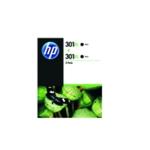 HP 301XL Black Cartridge Twin PkD8J45AE