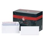 Plus Fabric DL Env Peel Seal White Pk250