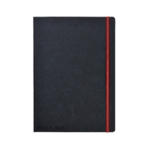 Black n Red Hard Cover Notebook A4