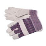 Grey/Blue/Red H/Duty Rigger Gloves Pk12