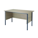 FF Serrion Maple 1200mm 4Legged Desk