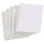 Clear A4 Punched Pocket Pk500