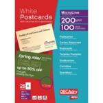 Post Cards A4 Sheet 148.5x105mm Pk100