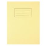 Silvine Yellow EX103 Exercise Book Pk10