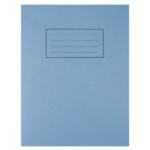 Silvine Blue 9x7 Exercse Book Pk10 EX104