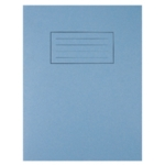 Silvine Blue 9x7 Exercse Book Pk10 EX106