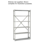 Bisley W1000xD300mm Grey Shelving Kit