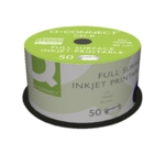 Q-Connect Ink Printable CDR Spindle Pk50