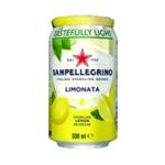 San Pellegrino Lemon Sparkling Can Pk24