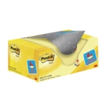 Post-it Yellow 38x51mm Notes Value Pack