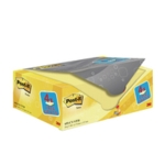 Post-it Yellow 76x127mm Notes Value Pack