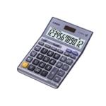 Casio Silver DF-120TERII Desktop Calc