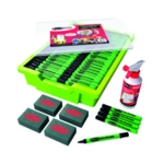 Show-me Dry Wipe Pen/Gratnell Tray Pk200