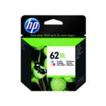 HP 62XL Tri Colour Ink C/M/Y C2P07AE