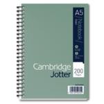 Cambridge Ruled Jotter Notebook  A5 Pk3