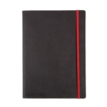 Black n Red Soft Cover Notebook B5
