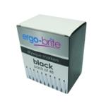 Ergo-Brite Drywipe Markers Grip Blk Pk48
