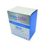 Ergo-Brite Drywipe Marker Grip Blue Pk48