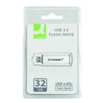 Q-Connect Sil/Blk USB Slider 32Gb Drive