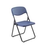 FF Jemini Folding Chair Dark Blue Pack 4