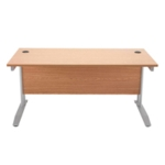 FF Arista 1200mm Rectangular Desk Oak