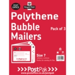 Polythene Size 7 Bubble Mailer Pk13