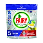 Fairy Platinum Dishwasher Tabs Pk75