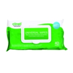 Clinell Univ Sanitising Wipes 40 Pk24
