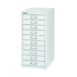 FF Bisley 10 Drw Cabinet Silver