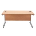 FF Arista 1200mm Rectangular Desk Maple