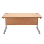 FF Arista 1600mm Rectangular Desk Beech